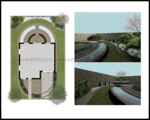 projekt ogrodu nowoczesnego Kraków
