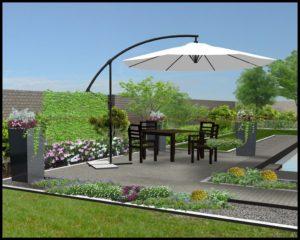 projekt ogrodu Wieliczka