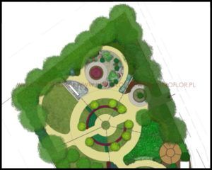 projekt ogrodu do hortiterapii okolice Krakowa