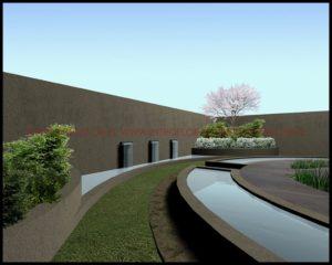 projekt nowoczesnego ogrodu Kraków