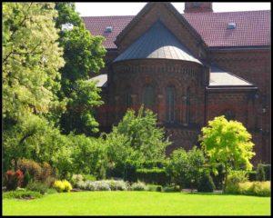 ogród przy klasztorze, Kraków