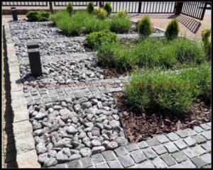 ogród przy firmie Kraków